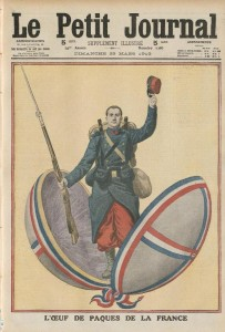 Le Petit Journal, supplément illustré du dimanche, une du 23 mars 1913
