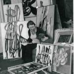 Solange BERTRAND (1913-2011), peintre, vers 1970