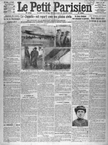 Le Petit Parisien du 5 avril 1913, une