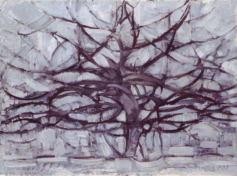 L'arbre gris, par Mondrian, 1911 | Gemeentemuseum, La Haye