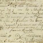 Un acte de mariage pas banal, en 1697 à Marange-Silvange (Moselle)