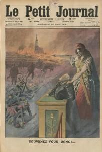Le Petit Journal, supplément illustré du dimanche 22 juin 1913 - Souvenez-vous donc!...