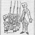 L'Humanité, une du 19 juillet 1913, extrait - L'abaissement de l'âge de l'incorporation | Gallica - BnF