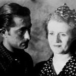 Antoine MARTINEZ (1913-1970), peintre français figuratif et sa femme Alice
