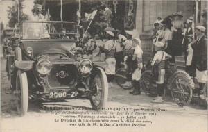 Carte Postale Ancienne - Saint-Christophe-le-Jajolet - Troisième Pèlerinage Automobile, 20 Juillet 1913