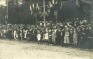 Carte-Photo - Le Mans - 14 juillet 1913
