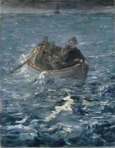 L'évasion de ROCHEFORT, par Édouard Manet, 1881 - Kunsthaus, Zurich