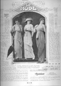 La Mode, 1er juillet 1913