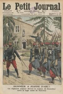 Le Petit Journal, supplément illustré du dimanche 18 mai 2013, une - Honneur à Jeanne d'Arc