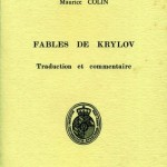 Fables de Krylov - traduction et commentaire par Maurice COLIN