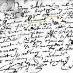 Acte de Baptême de Denize ATHOMAS, 1613, Saint-Saturnin | AD 18 - BMS 1607-1672 - vue 6