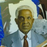 Aimé CÉSAIRE (1913-2008), poète et homme politique martiniquais, par Eddie Francisque