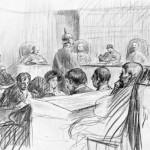 Le procès de Saverne, janvier 1914 - L'Illustration
