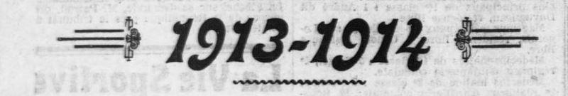 L'Ouest-Eclair, une du 1er janvier 1914