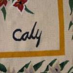tapisserie signée Odette CALY (1914-1993), peintre