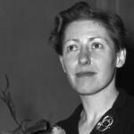 Beatrix BECK (1914-2008), écrivain française d'origine belge, dernière secrétaire d'André GIDE,  prix Goncourt-1952 pour Léon Morin, prêtre