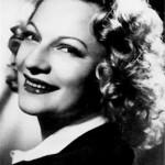Lily FAYOL (1914-1999), née Odette, chanteuse fantaisiste et actrice, mariée au champion cycliste Maurice ROUX