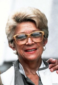 Christine GOUZE-RENAL (1914-2002), née Madeleine, fille de résistants et résistante, première femme française productrice de cinéma puis de télévision