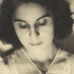 Madeleine MALRAUX (1914-2014), née Marie-Madeleine LIOUX, pianiste concertiste, dernière épouse d'André MALRAUX