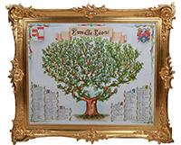 JACQUES - arbre généalogique par Monica Léoni Gosciewska