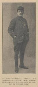 Joseph FRANTZ (1890-1979) - aviateur, premier as de l'aviation française - La Guerre aérienne illustrée, 02/01/1919