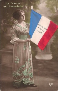 Carte Postale Ancienne - 1914-1918 - La France immortelle | collection Yvon Généalogie