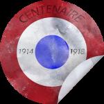 Cocarde tricolore - Centenaire 1914-1918