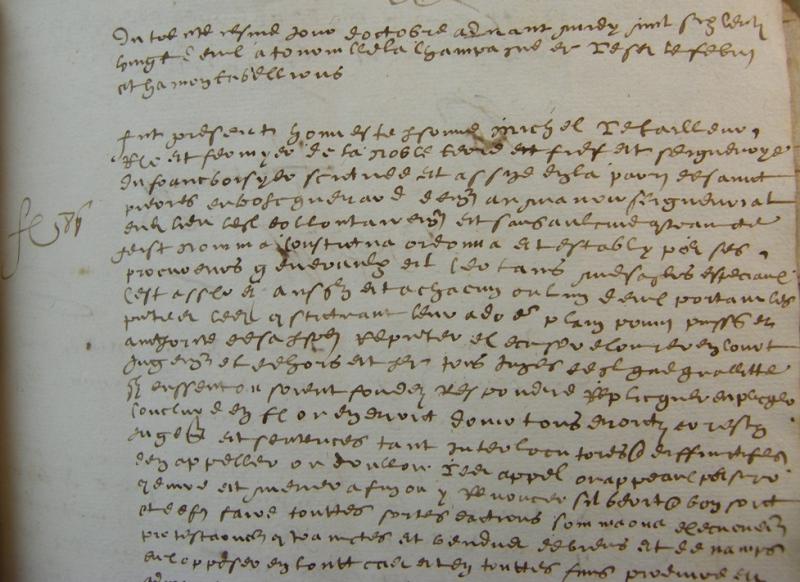 Procuration, 1622 | Archives Départementales de l'Eure