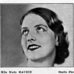 Mado MAURIN (1915-2013), actrice, en 1932 | Studio Piaz, cajac1845.wordpress.com