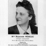 Raymonde NÉDELEC-TILLON, née Raymonde Marie BARBÉ en 1915, femme politique | assemblee-nationale.fr
