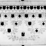 Arbre généalogique vide avec transparence - de Rambures - Gallica Bnf