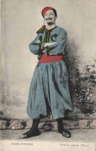 CPA Tirailleur algérien