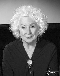 DARRIEUX Danielle, née en 1917, comédienne, en 2008 | Studios Harcourt
