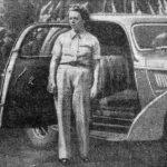 SIMON Yvonne (1917-1992), pilote de course de rallyes et sur circuit, en 1939 | Le Journal - Wikimédia